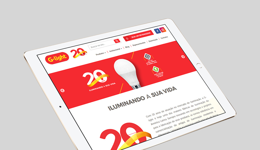 G-light Novo Site